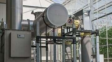 Gas- und CO2-Heizung